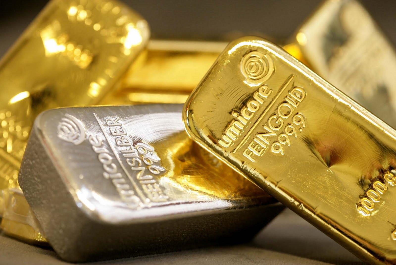 Lingotti oro e argento